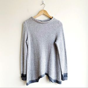 Anthropologie Cozy Long Length Sweater